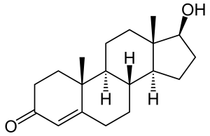 testosterone chemical formula