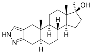 winstrol chemical structure